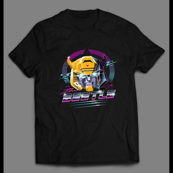 TRANSFORMER BUMBLEBEE THE BEETLE RETRO STYLE MEN'S SHIRT