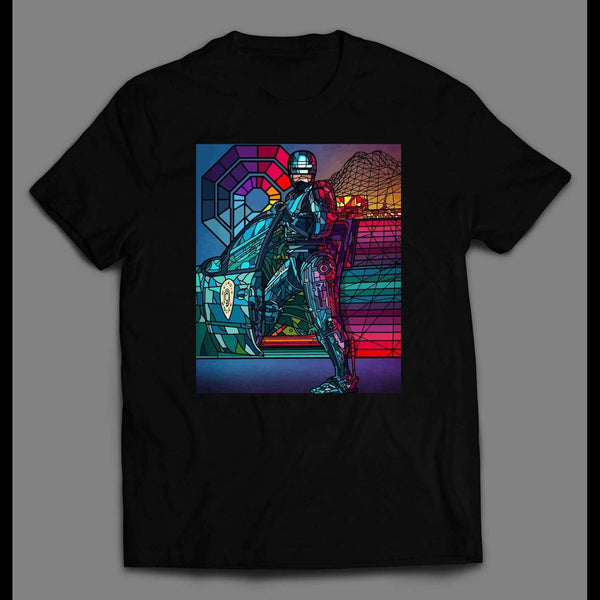 80s ROBO COP MOVIE POSTER POP ART POSTER SHIRT