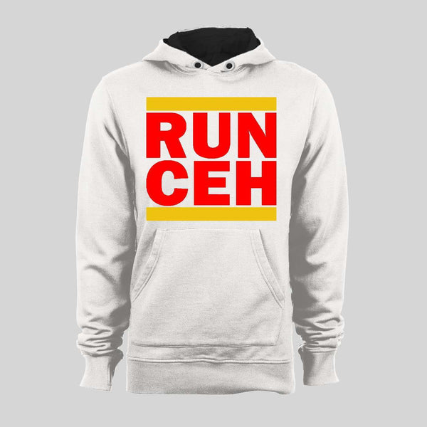 CLYDE THE GLYDE RUN CEH ARROWHEAD THE KC QUALITY FOOTBALL FULL FRONT PRINT HOODIE / SWEATER