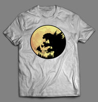 GODZILLA VS SANTA CLAUSE CHRISTMAS SHIRT - Old Skool Shirts