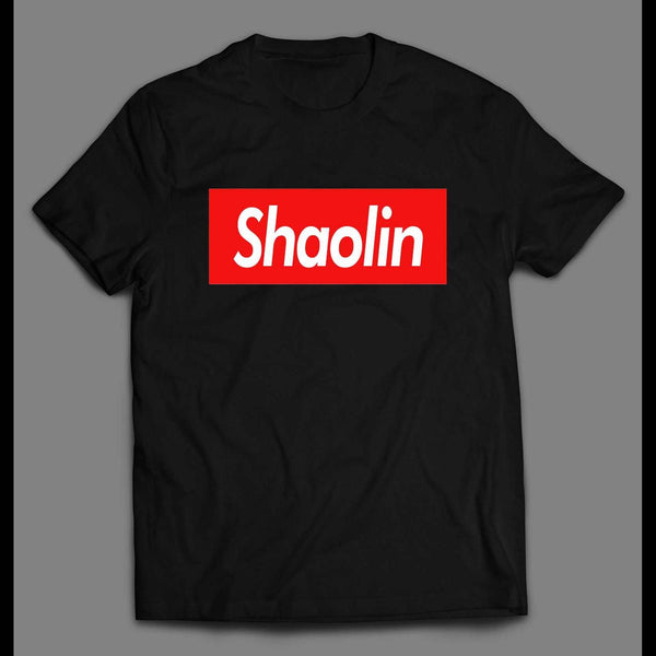 POP CULTURE SHAOLIN CUSTOM DESIGN HIGH QUALITY SHIRT