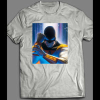 CULT CLASSIC SPACE GHOST VARIANT COMIC BOOK FRONT COVER SHIRT - Old Skool Shirts