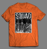 SQUAD HALLOWEEN HORROR MOVIE SERIAL KILLERS SHIRT