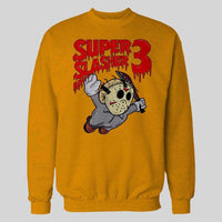 SUPER SLASHER BROS 3 X RETRO GAME STYLE HALLOWEEN HOODIE / SWEATER - Old Skool Shirts