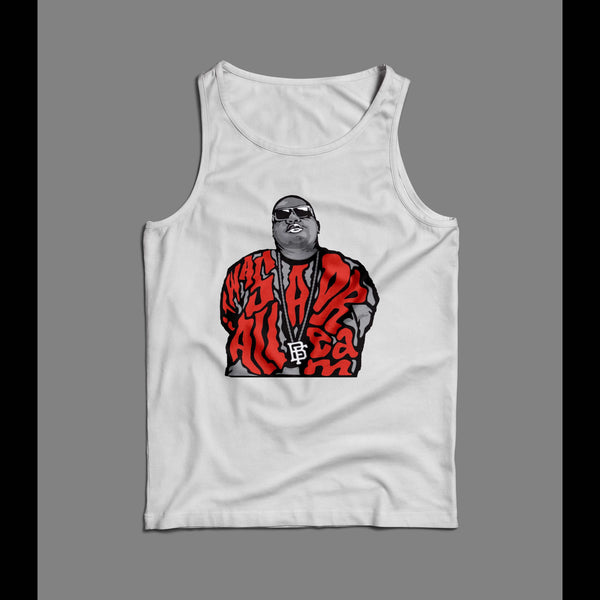 NEW YORK RAPPER BIGGIE SMALLS ART TANK TOP