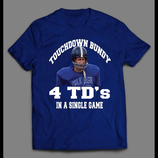 MARRIED WITH CHILDREN TOUCHDOWN BUNDY SHIRT