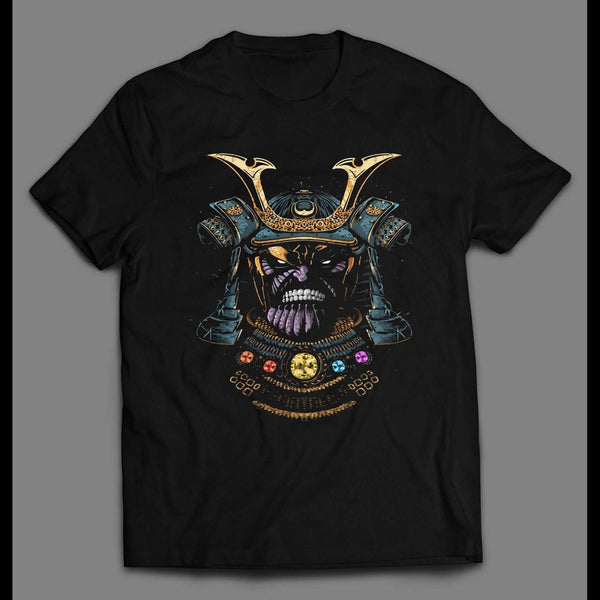 THANOS SAMURAI STYLE CUSTOM ART HIGH QUALITY SHIRT