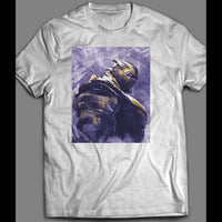 AVENGERS ENDGAME THANOS PAINTING SHIRT - Old Skool Shirts