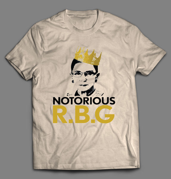 THE NOTORIOUS R.B.G RUTH BADER GINSBURG PARODY SHIRT