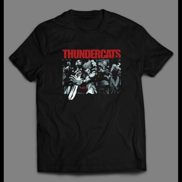 80'S CARTOON THE THUNDERCAT'S CHARACTERS CUSTOM ART SHIRT - Old Skool Shirts