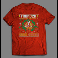 "THUNDERCATS ""HOOOOOO"" CHRISTMAS THEMED SHIRT - Old Skool Shirts"