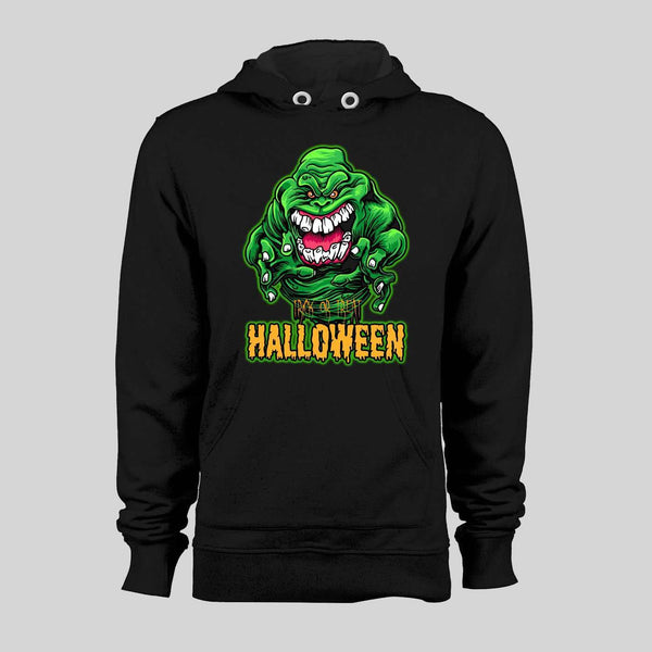 GREEN GHOST SLIMER TRICK OR TREAT HALLOWEEN HOODIE / SWEATSHIRT