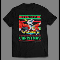 COMBINER ROBOTDEFENDER OF CHRISTMAS HOLIDAY SHIRT