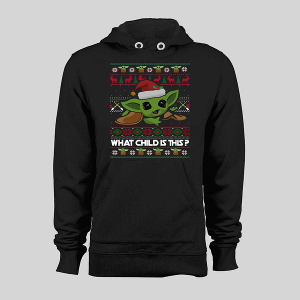 STAR BABY ALIEN WHAT CHILD IS THIS CHRISTMAS HOODIE /SWEATER