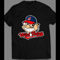 WILD THING RICKY VAUGHN CARTOON BASEBALL SHIRT - Old Skool Shirts