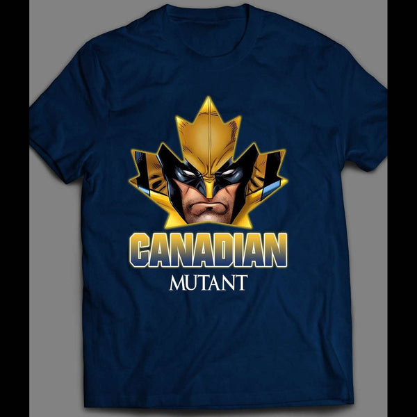WOLVERINE THE CANADIAN MUTANT COMIC BOOK HERO INSPIRED SHIRT - Old Skool Shirts