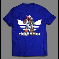 DEFENDER OF THE UNIVERSE VOLTRON SPORTS WEAR PARODY SHIRT - Old Skool Shirts
