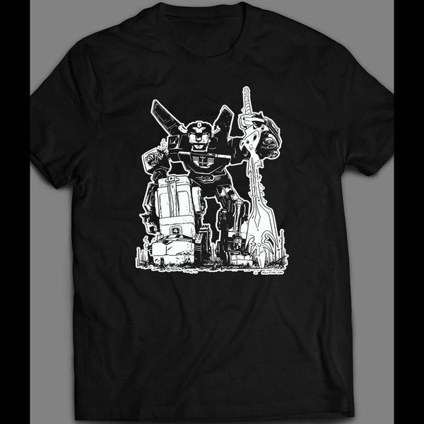1980'S CARTOON BATTLE DAMAGED VOLTRON SHIRT - Old Skool Shirts