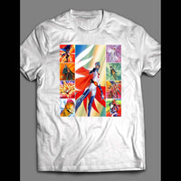 1980'S CARTOON G-FORCE ANIME HERO GATCHAMAN OLDSKOOL SHIRT - Old Skool Shirts