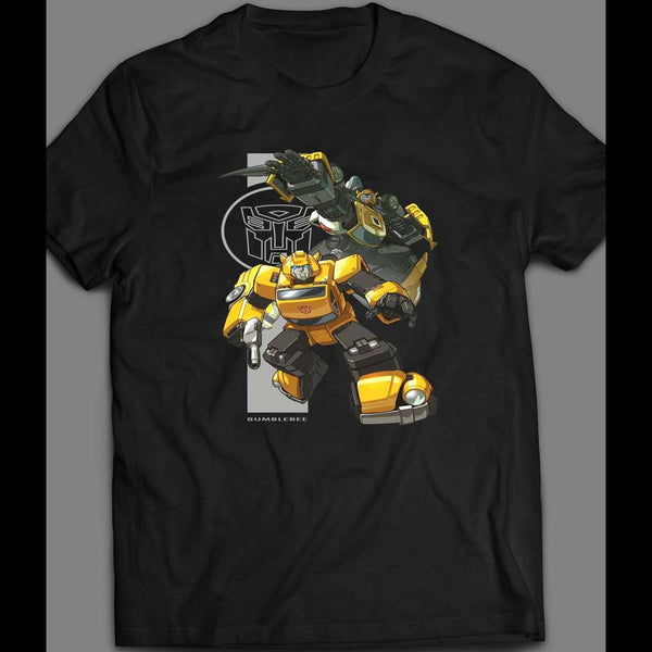 1980'S CARTOON TRANSFORMERS AUTOBOT BUMBLE BEE SHIRT - Old Skool Shirts