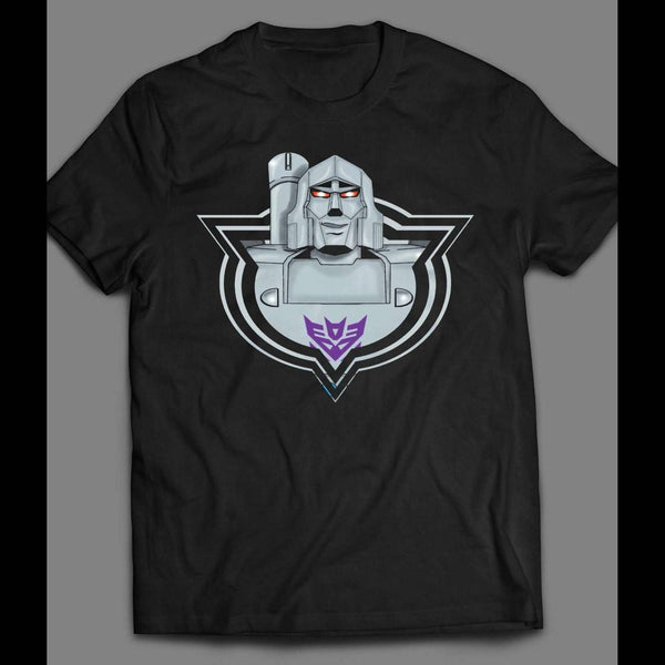 1980'S CARTOON TRANSFORMERS DECEPTICON LEADER MEGATRON SHIRT - Old Skool Shirts