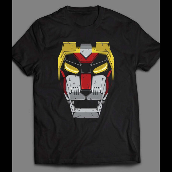 1980'S CARTOON VOLTRON BLACK LION SHIRT - Old Skool Shirts