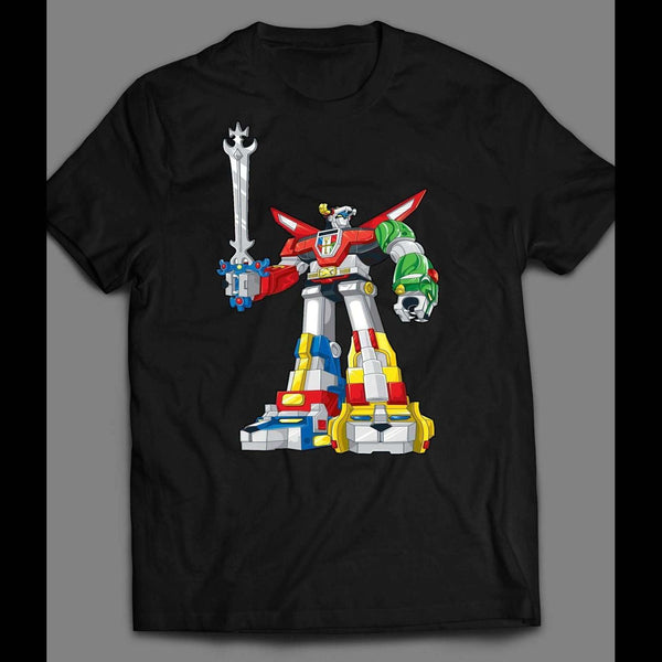 1980'S CARTOON VOLTRON HOT TOPIC OLDSKOOL SHIRT - Old Skool Shirts
