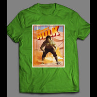 1980 INCREDIBLE HULK TV SERIES SHIRT - Old Skool Shirts