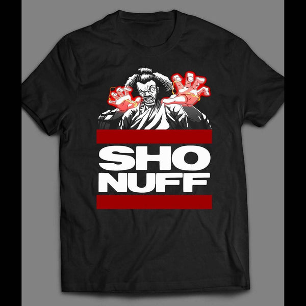 "1980'S MOVIE, THE LAST DRAGON'S ""SHO NUFF"" T-SHIRT - Old Skool Shirts"