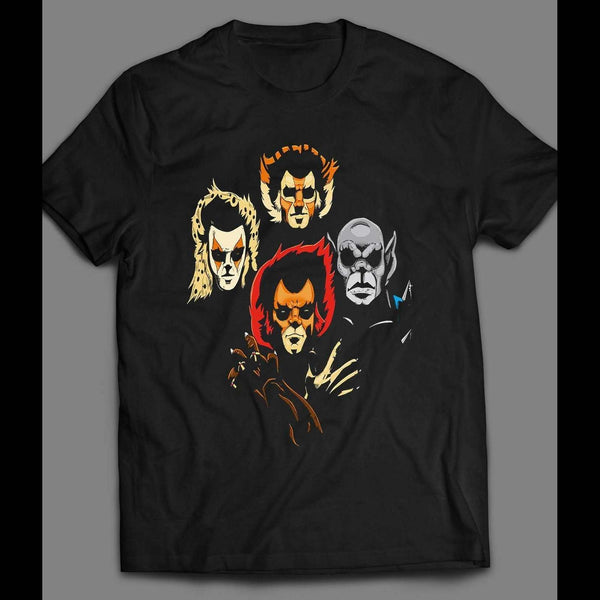 80'S CARTOON THE THUNDERCAT'S BOHEMIAN RHAPSODY PARODY ART SHIRT - Old Skool Shirts