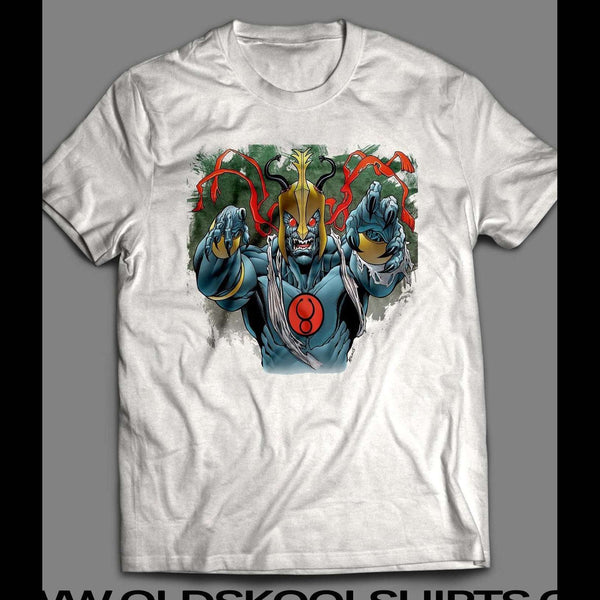 80'S CARTOON THE THUNDERCAT'S MUMM-RA CUSTOM ART SHIRT - Old Skool Shirts