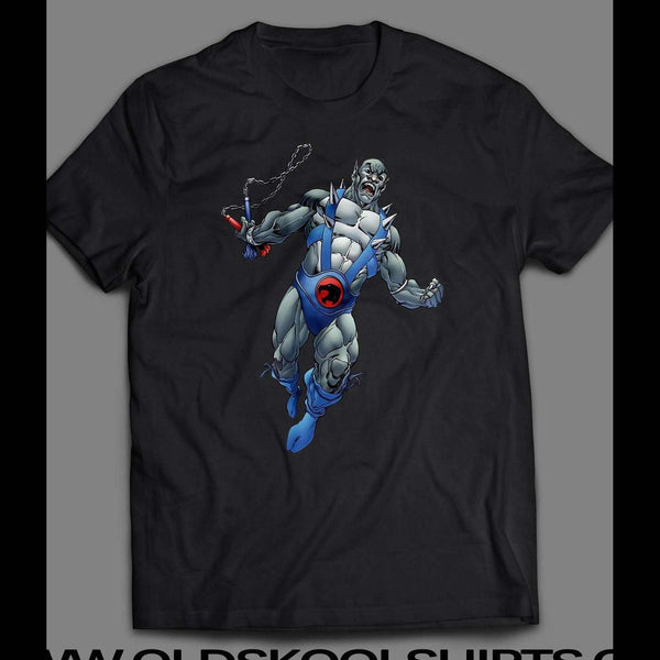 80'S CARTOON THE THUNDERCAT'S PANTHRO CUSTOM ART SHIRT - Old Skool Shirts