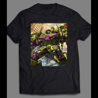 80'S CARTOON TRANSFORMERS DECEPTICON DEVASTATOR SHIRT - Old Skool Shirts