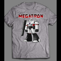 80'S CARTOON TRANSFORMERS DECEPTICON, MEGATRON SHIRT - Old Skool Shirts