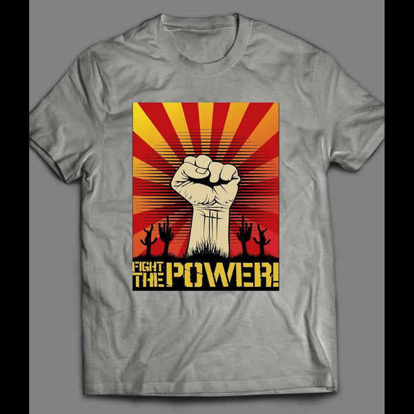 "80's PUBLIC ENEMY RAP GROUP ""FIGHT THE POWER"" SHIRT - Old Skool Shirts"