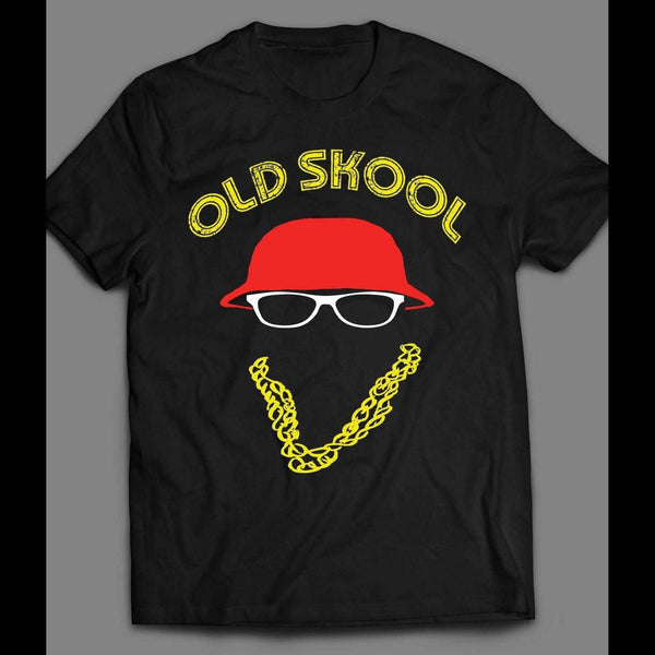 80'S Rapper LL COOL J Hip Hop T-SHIRT Custom Rare Artwork Design High Quality OLDSKOOL SHIRT - Old Skool Shirts