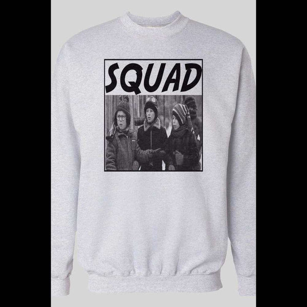 A CHRISTMAS STORY SQUAD WINTER PULL OVER SWEATSHIRT - Old Skool Shirts