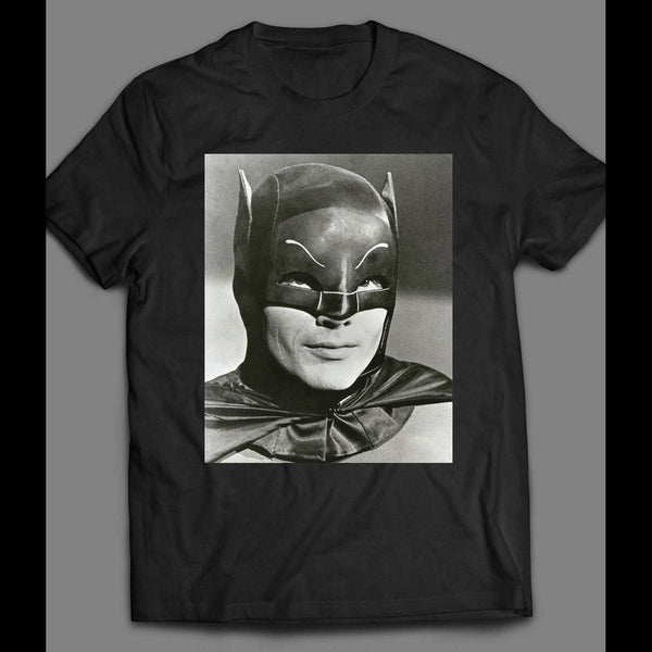 ADAM WEST 1960'S BATMAN TV SERIES T-SHIRT - Old Skool Shirts