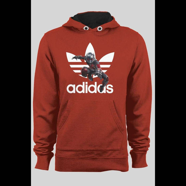 ADIDAS ANT-MAN MASH UP CUSTOM ART WINTER HOODIE - Old Skool Shirts