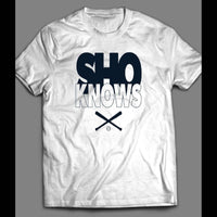 "ANAHEIM ANGELS PITCHER SHOHEI OHTANI ""SHO KNOWS"" CUSTOM ART SHIRT - Old Skool Shirts"