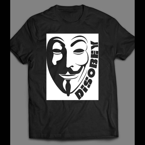ANONYMOUS GUY FAWKS MASK SHIRT - Old Skool Shirts