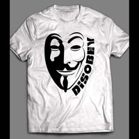 ANONYMOUS GUY FAWKS MASK T-SHIRT - Old Skool Shirts