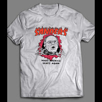 BERNIE SANDERS MAKE AMERICA SKATE AGAIN CUSTOM ART SHIRT - Old Skool Shirts
