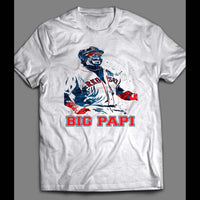 BOSTON'S DAVID ORTIZ BIG PAPI SPLASH ART SHIRT - Old Skool Shirts