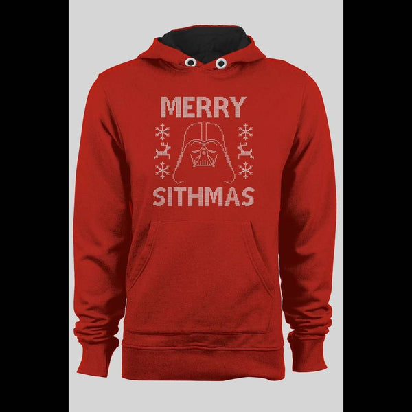 DARTH VADER MERRY SITHMAS HOLIDAY HOODIE - Old Skool Shirts