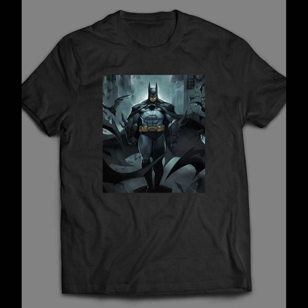 BATMAN COMIC BOOK ART T-SHIRT - Old Skool Shirts
