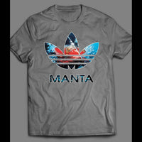 BLACK MANTA COMIC BOOK ART ATHLETIC WEAR PARODY SHIRT - Old Skool Shirts