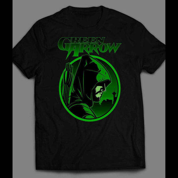 DC COMICS GREEN ARROW CW NETWORK SERIES T-SHIRT - Old Skool Shirts