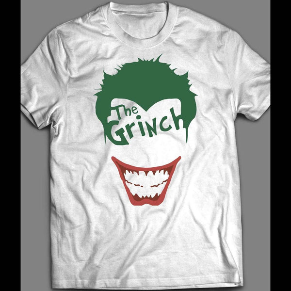 DC COMICS JOKER GRINCH PARODY T-SHIRT - Old Skool Shirts