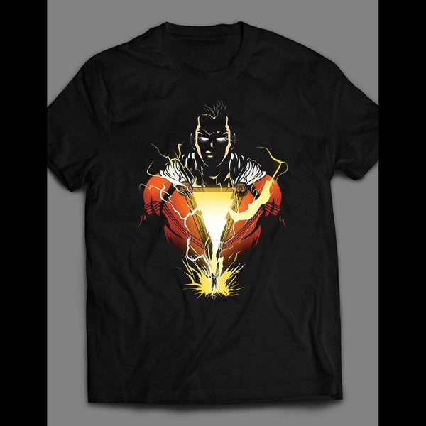 SHAZAM ART SHIRT - Old Skool Shirts